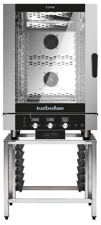 Turbofan EC40D7 - Full Size 7 Tray Digital / Electric Combi Oven