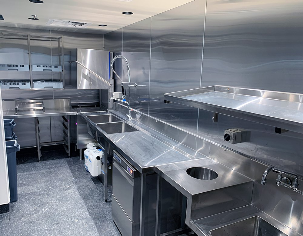 Southern Hospitality Commercial Kitchen Design - Alma